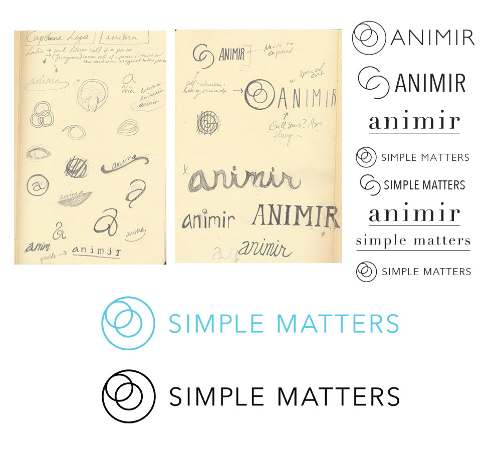 Simple Matters Logo Iterations